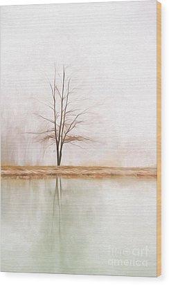 Peacefulness Wood Print