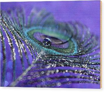 Peacock Spirit Wood Print