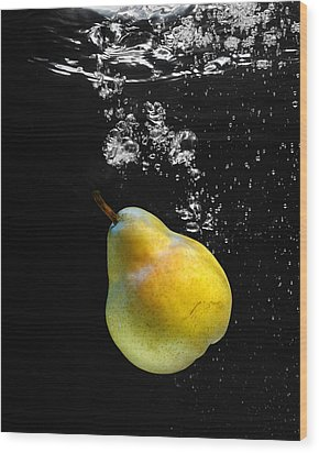 Pear Wood Print by Krasimir Tolev