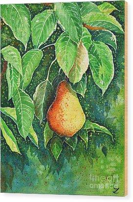 Pear Wood Print by Zaira Dzhaubaeva