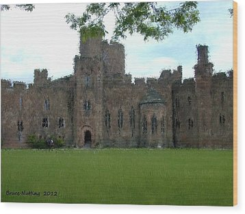 Peckforton Castle Wood Print