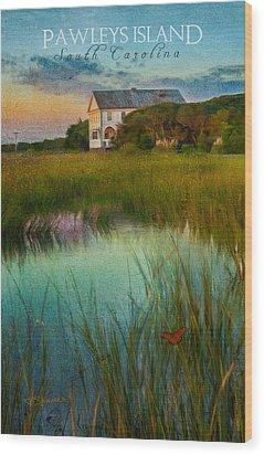 Pelican Inn- Poster Wood Print