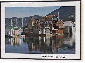 Pend O'reille Lake 2 Wood Print