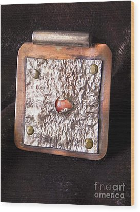 Pendant Wood Print by Patricia  Tierney