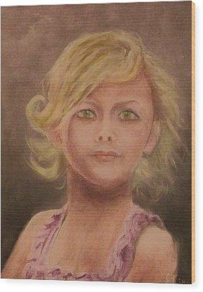 Penelope Wood Print by Stephen King
