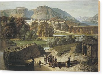 Penguilly-lharidon, Octave 1811-1870 Wood Print by Everett