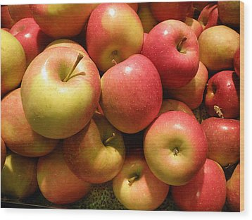 Pennsylvania Apples Wood Print