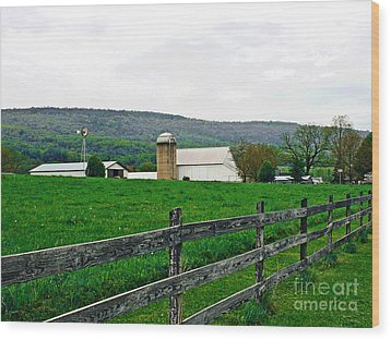 Pennsylvania Farm Wood Print