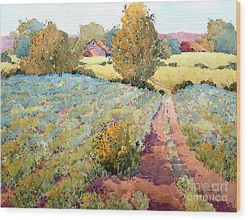 Pennsylvania Idyll Wood Print by Joyce Hicks