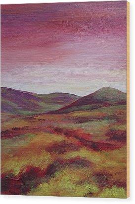 Pentland Hills Scotland Wood Print