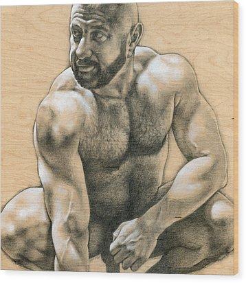 Penumbra 2 Wood Print by Chris Lopez