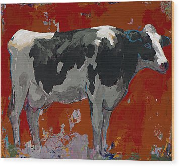 People Like Cows #3 Wood Print