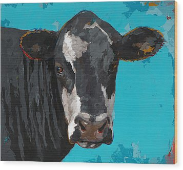 People Like Cows #8 Wood Print by David Palmer