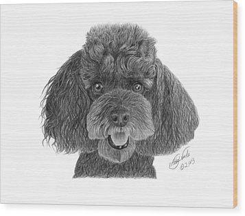 Pepper - 020 Wood Print by Abbey Noelle