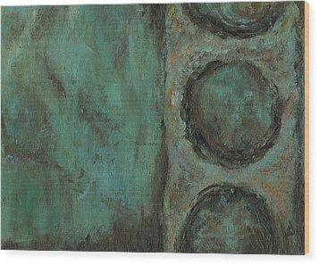 Pepperland Laid Waste Wood Print by Logan Hoyt Davis