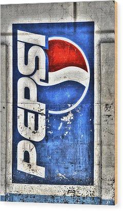 Pepsi Ala Puebla Wood Print by Craig T Burgwardt