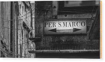 Per S. Marco Venice Wood Print by Colin Utz