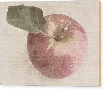 Perfect Apple Wood Print