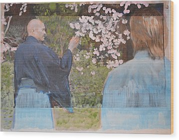 Perfect Blossom Wood Print