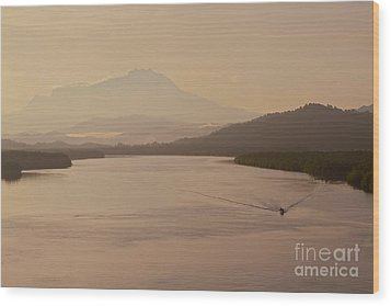Wood Print featuring the photograph Perfect Dawn  by Gary Bridger