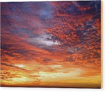 Perfect Ending Wood Print by Michael Durst