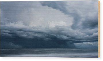 Perfect Storm Wood Print by Matt Dobson