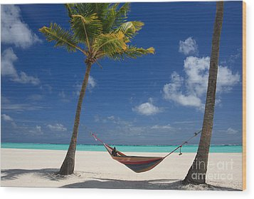 Wood Print featuring the photograph Perfect Tropical Beach by Karen Lee Ensley