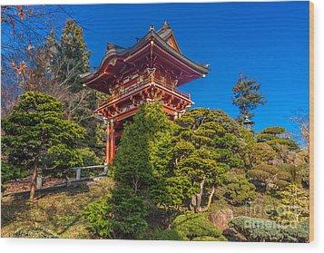Pergoda 2 Wood Print