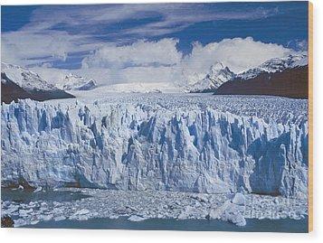 Perito Moreno Glacier Argentina Wood Print by Rudi Prott