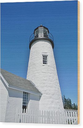 Pemaquid Lighthouse Wood Print