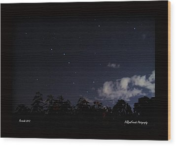 Perseids Big Dipper Wood Print by PJQandFriends Photography