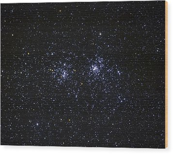 Perseus Double Cluster Ngc 869 Wood Print