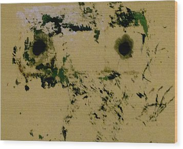 Persona 2 Wood Print by Charles Rayburn