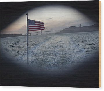 Perspective Liberty Wood Print by Misty Herrick