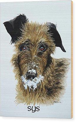 Pet Portraits Now Available Wood Print