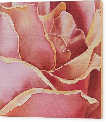 Petals Petals IIi Wood Print by Irina Sztukowski