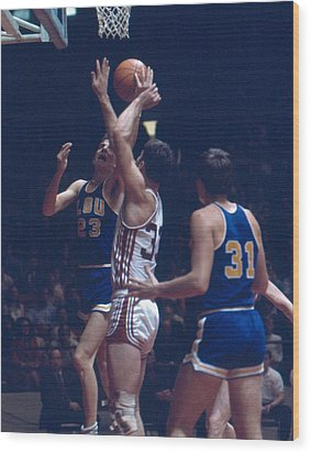 Pete Maravich In Traffic Wood Print by Retro Images Archive