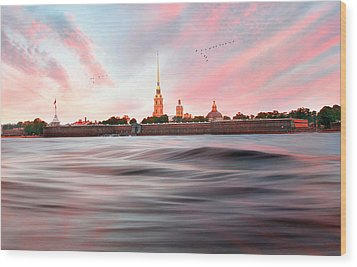 Wood Print featuring the photograph Peter And Paul Fortress by Roy  McPeak