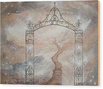 Peter's Gate Wood Print