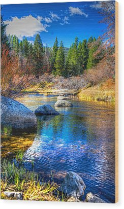 Wood Print featuring the photograph Pettengill Creek by Kevin Bone