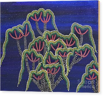 Peyote Dreams Wood Print