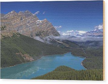 Peyto Lake Wood Print