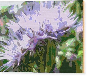 Phacelia Wood Print by Bitten Kari