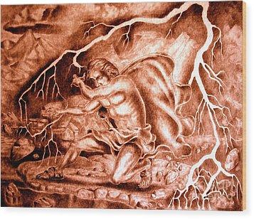 Phaethon Wood Print