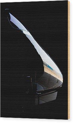 Phenom Reflection Wood Print by Paul Job