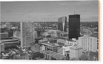 Philadelphia - A View Across The Schuylkill River Wood Print