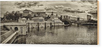 Philadelphia Art Museum 8 Wood Print by Jack Paolini
