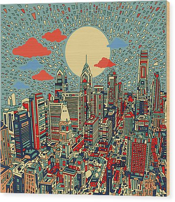 Philadelphia Dream 2 Wood Print
