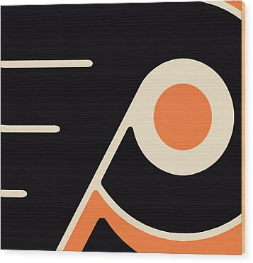 Philadelphia Flyers Wood Print by Tony Rubino
