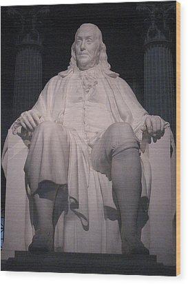 Philadelphia Pa - 12122 Wood Print by DC Photographer
